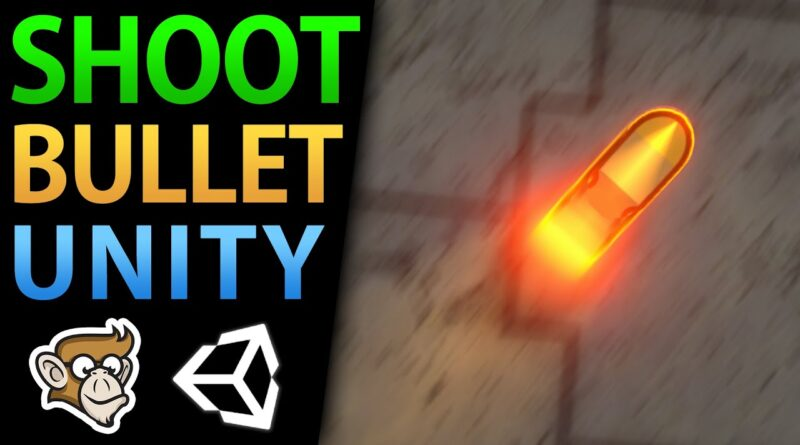 3 Ways to Shoot Projectiles in Unity!