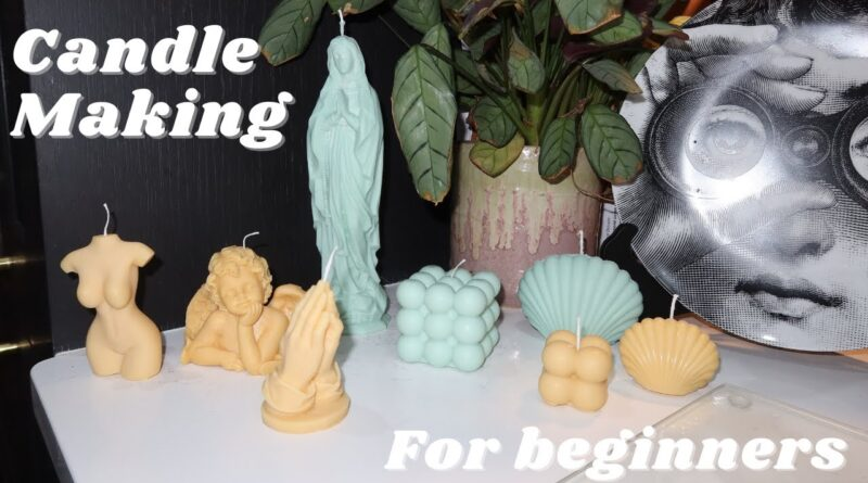 Candle Making For Beginners with Soy Wax at Home & GIVEAWAY
