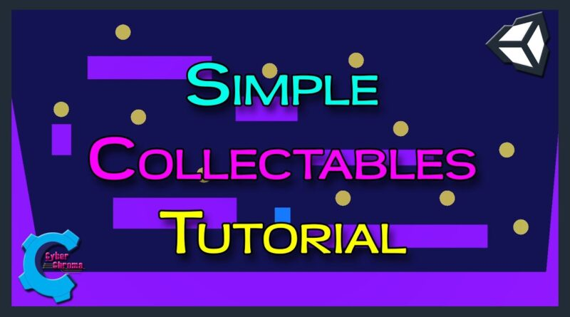 Unity Simple Collectables Tutorial!