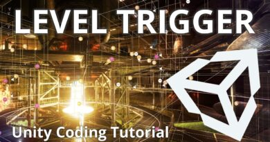 Controlling your game with Unity Events and Level Triggers - Unity Tutorial