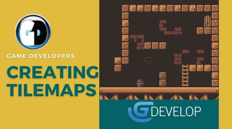 how to create tilemaps for gdevelop