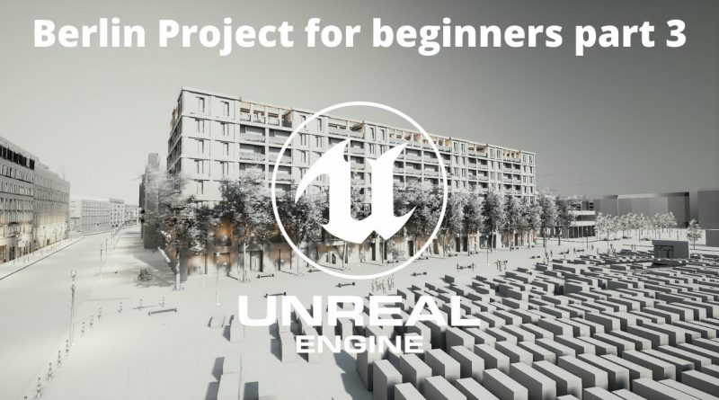 How to create Exterior Projects In Unreal Engine for beginners Part 3