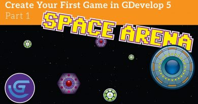 Create Your First Game Using GDevelop 5: Episode 1