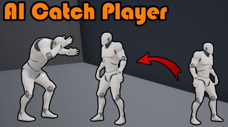 AI Catches Player | Animation And Restart Game - Unreal Engine 4 Tutorial