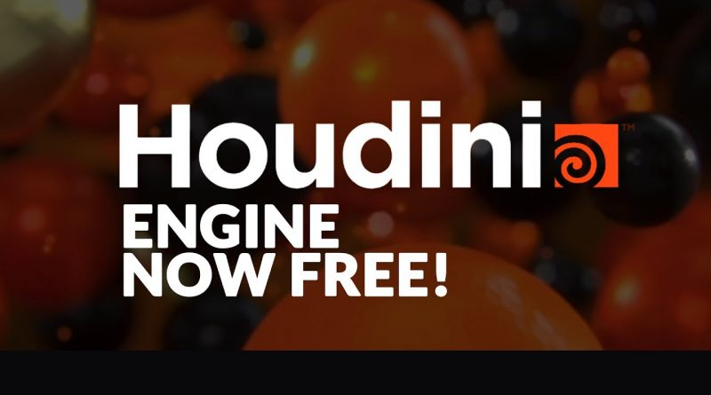 Houdini Engine Is Now Free + Quick Tut.!