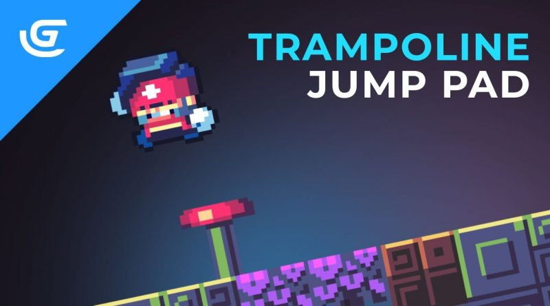 How to Make a Simple Trampoline / Jump Pad in GDevelop 5 - Tutorial
