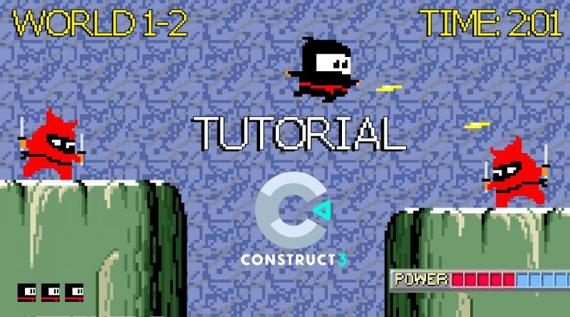 HOW TO MAKE A GAME IN CONSTRUCT 3  - TUTORIAL (BEST GAME ENGINES 2020)