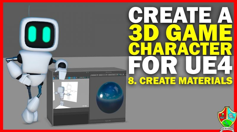Create a 3D Game Character Part 8: Texturing - Create PBR Materials
