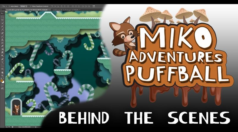 Miko Adventures: Puffball (behind the scenes) Made with Gdevelop 5 : Gdevelop tutorial.