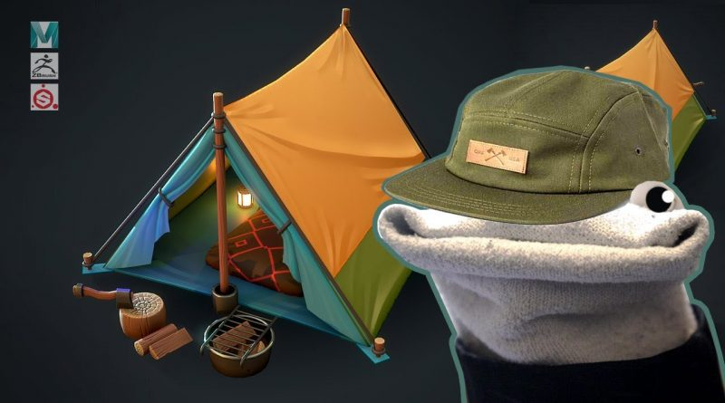 Making a Stylized Camp Scene with Maya, Zbrush, and Substance Painter