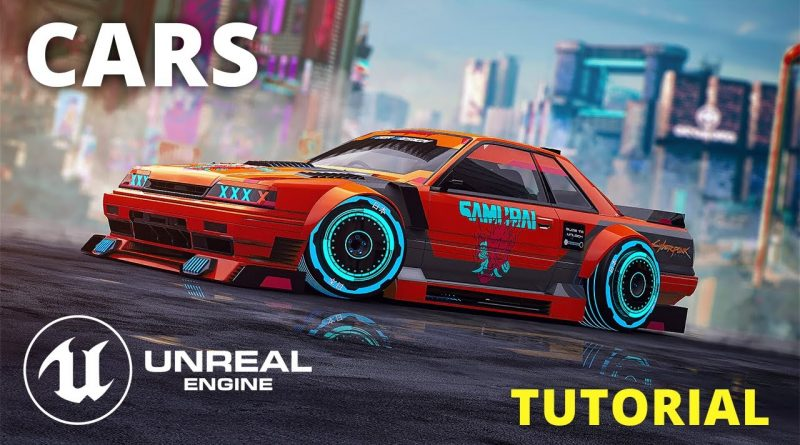 Unreal Engine 4 Tutorial   Drivable Cars And Vehicle Physics