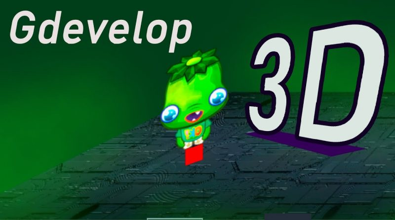 HOW TO ENABLE 3D IN Gdevelop  [ Free Game Engine ]