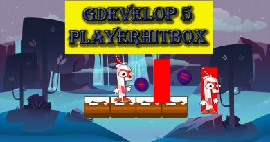 GDevelop 5 How to set up playerhitbox