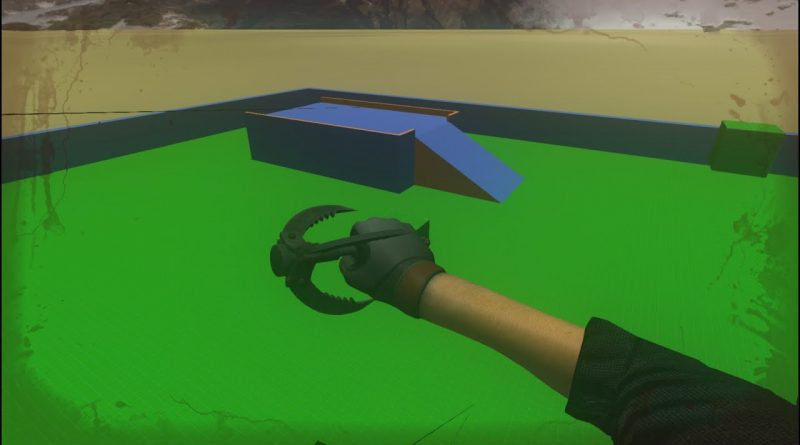 The Underground - Get out alive.#Update - Hint system, grappling hook, flamethrower soldier. Unity3d