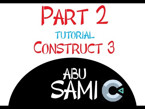 Make a Game without Coding using Construct 3 tutorial part 2