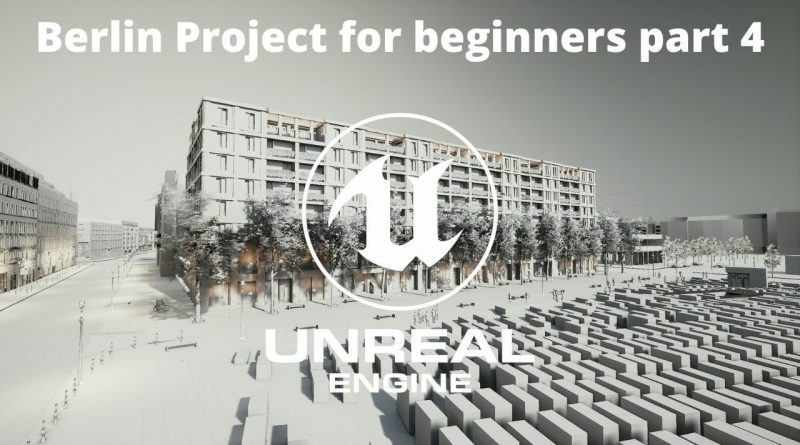 How to create Exterior Projects In Unreal Engine for beginners Part 4