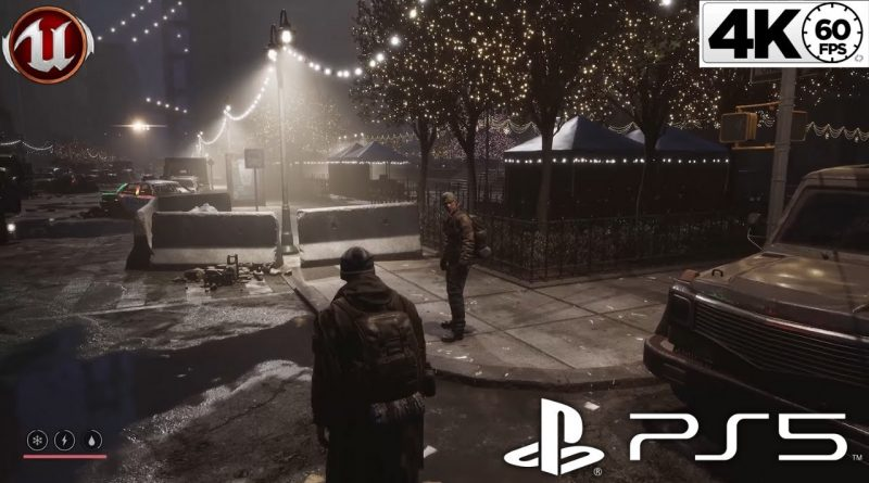 The Latest Gameplay Of Unreal Engine 5 Next-Gen Game | PS5 4K 60fps