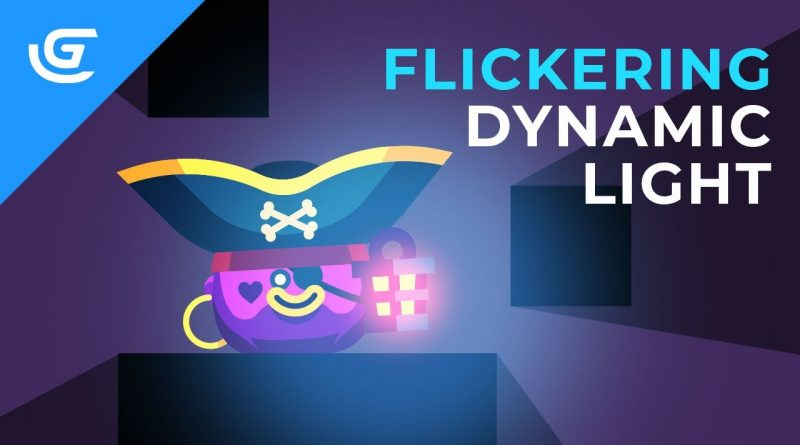 How to Create a Flickering Dynamic Light Effect in GDevelop 5 - New Update -  Dynamic Lights Feature