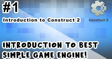 Introduction to Best simple Game Engine   Introduction to Construct 2   Tutorial   #1