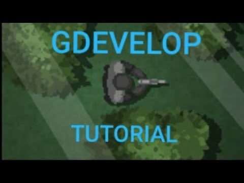 GDevelop Top Down Shooter Tutorial