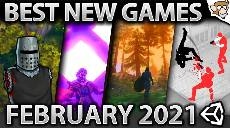 Top 10 NEW Games of February 2021! #madewithunity