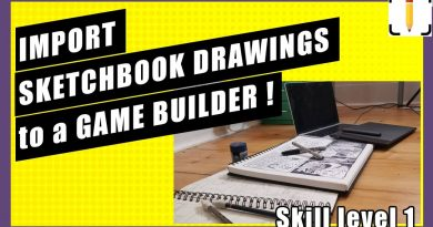 Sketchbook drawings to a game - GDEVELOP 5 Tutorial for artists