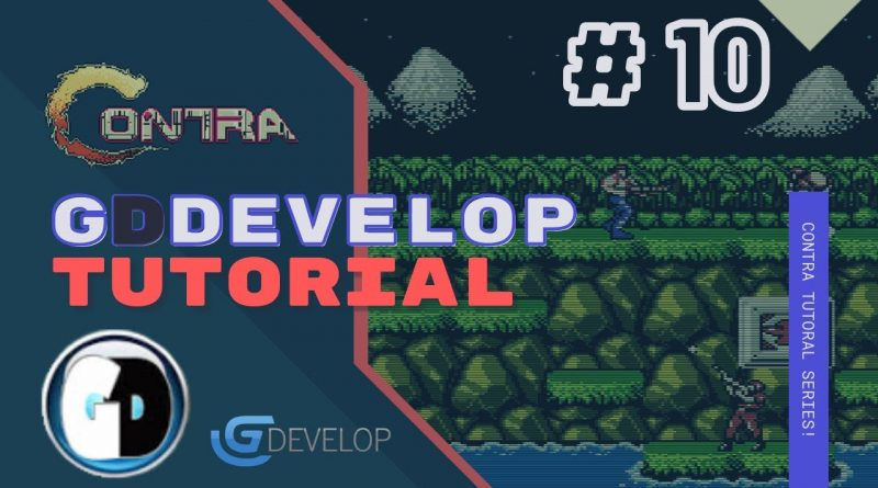 Gdevelop FREE VISUAL Game Engine: CONTRA Tutorial #10 - LEVEL DESIGN WITH TILED
