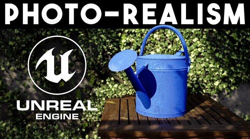 3D Software Practice will PAY OFF | Let's Create a PhotoRealistic Scene in UE4 Together