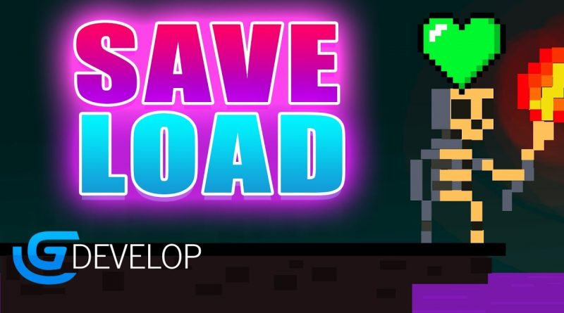 HOW TO MAKE A SAVE & LOAD SYSTEM in Gdevelop