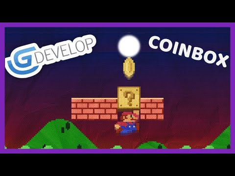How To Create a CoinBox in GDevelop 5 - An open-source, cross-platform game engine