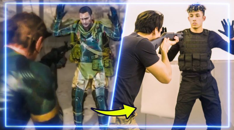 Martial Artists RECREATE CQC from Metal Gear Solid V | Experts Try