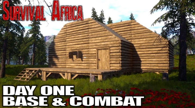 Promising New Survival Game, Build, Craft, FIGHT! | Survival Africa Gameplay | E01