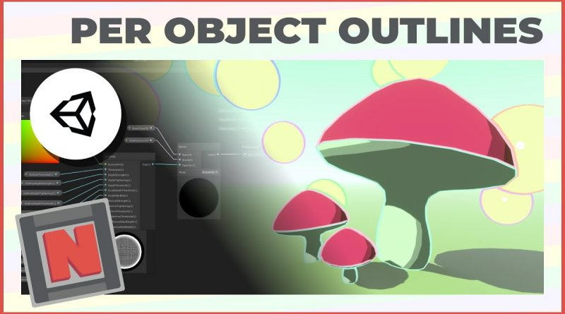 Single Object Outlines in Unity URP Shader Graph with Edge Detection! | Game Dev Tutorial