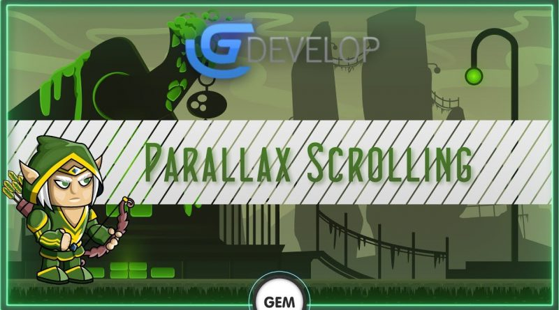 Parallax Scrolling | Gdevelop 5