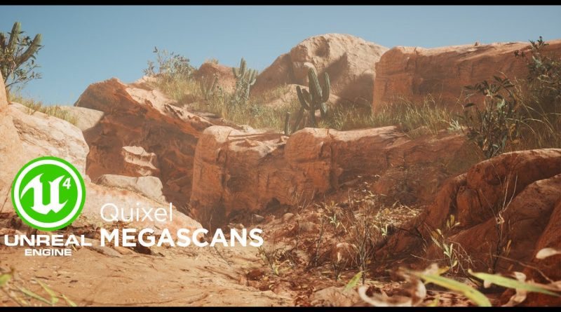 Create Desert with Quixel Megascans In UE4
