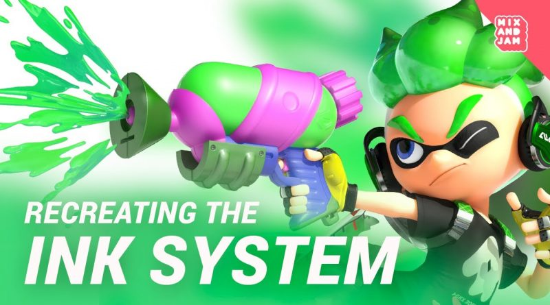 Splatoon's Ink System   Mix and Jam