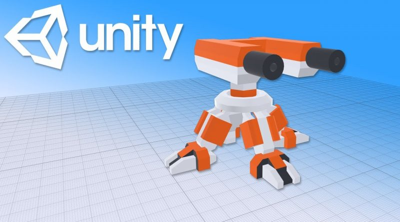 How to make a turret in Unity