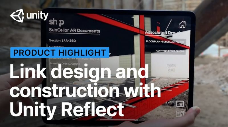 Bridge the gap between design and construction with Unity Reflect