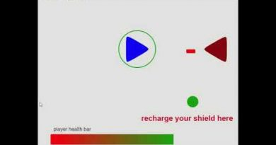 gdevelop tutorial how to create a protective shield around the player