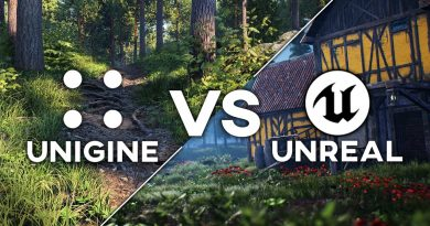 Unreal Engine VS UNIGINE: Which Engine is Better for Environmental Design