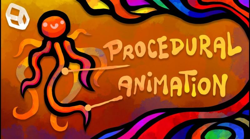 Procedural Animation: Tail, Wings, Hair, Tentacles! (Unity Tutorial)