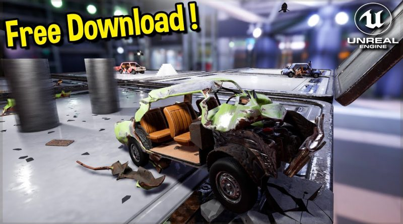I Found a Destructible Cars Project for Unreal Engine 4