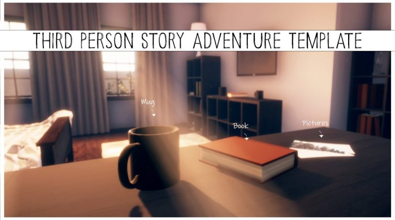 Third Person Story Adventure Template for Unreal Engine 4 (v. 1.0)