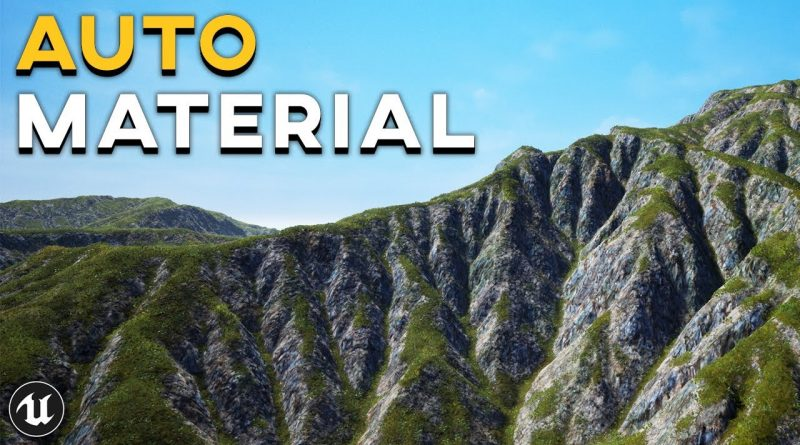 How To Create a REALISTIC Landscape Auto Material | UE4 Tutorial