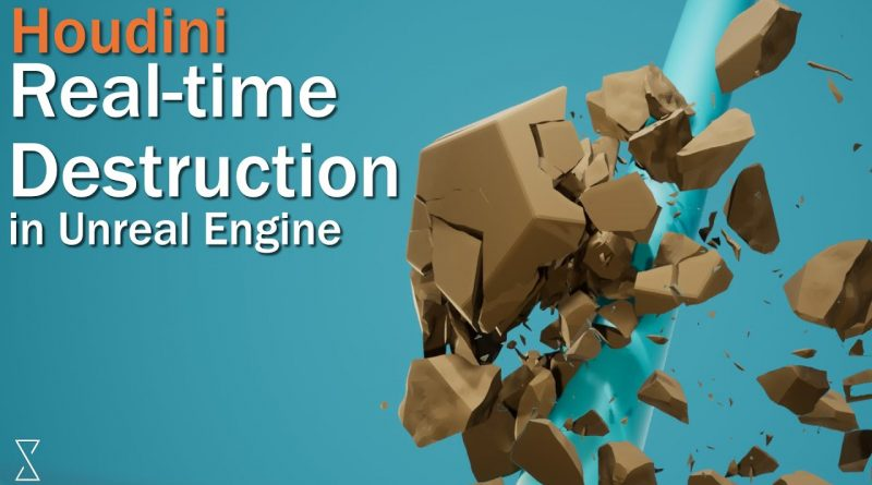 Real-time destruction with Houdini and Unreal || Tutorial