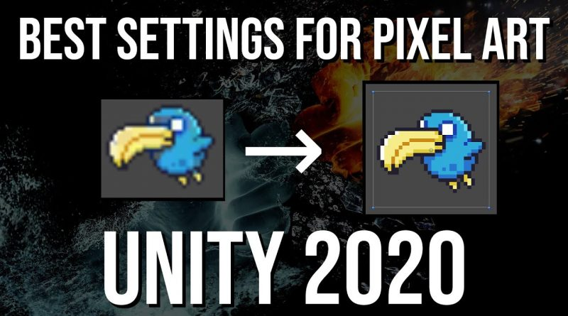 Best 2D Pixel Art Import Settings ~ Unity 2020 Tutorial