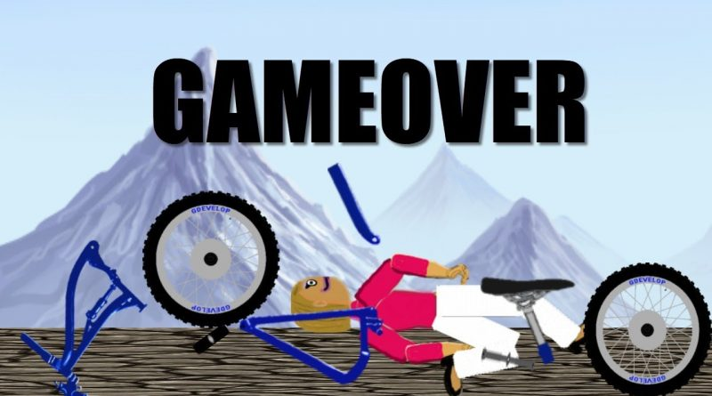 CHARACTER RESPAWN , FULLSCREEN AND ESCAPE TO GDEVELOP DOWNHILL BIKE DEMO GAME