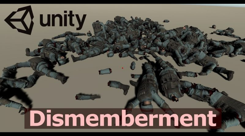 Let's make Dismemberment in Unity (Tutorial)