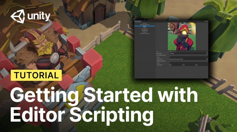 Getting Started with Editor Scripting in Unity! | Tutorial
