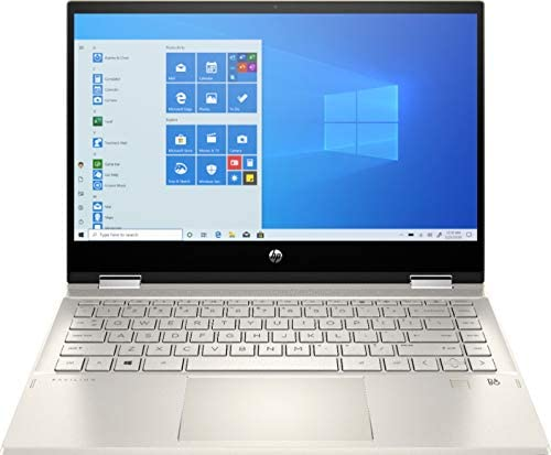"""2020 HP Pavilion x360 14"""" FHD WLED Touchscreen 2-in-1 Convertible Laptop, Intel Core i5-1035G1 up to 3.6GHz, 8GB DDR4, 256GB SSD, 802.11ac, Bluetooth, Webcam, HDMI, Fingerprint Reader, Windows 10"""